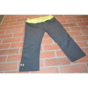 3512 Womens Under Armour Gym Pants Workout Size